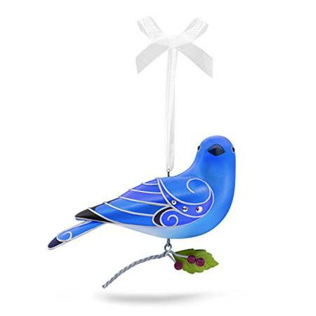 Hallmark Beauty of Birds #13 Mountain Bluebird Keepsake Christmas Ornament