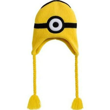Despicable Me Minion Peruvian Style Hat (1 size, Child) (Despicable Me Minion Hat)