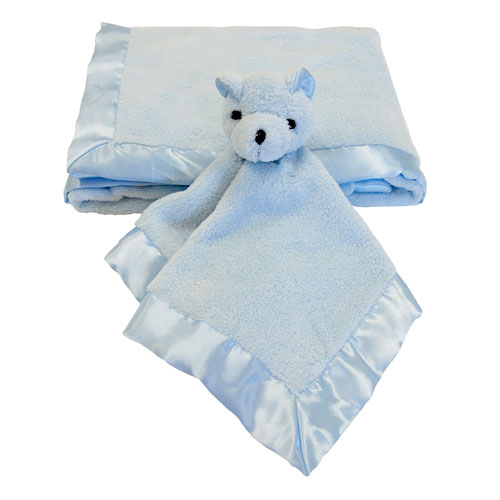 Seed Sprout - Stroller and Snuggle Blanket 2-Piece Set, Blue