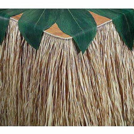 (3 pack) Raffia Table Skirting - Raffia Table