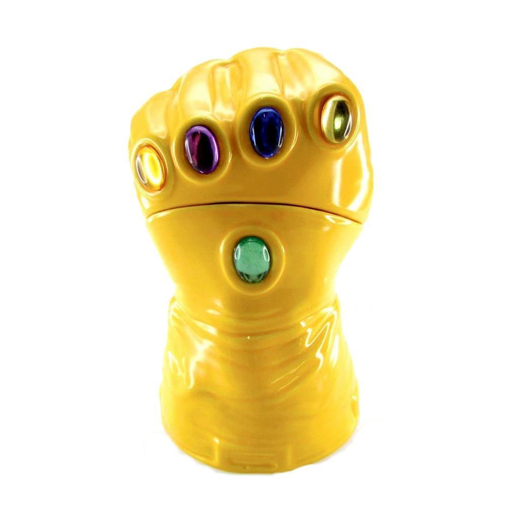 Click here to buy Marvel Heroes: The Infinity Gauntlet Lidded Gem Glove Cookie Jar Comic Surreal Entertainment SEP158904 by Surreal Entertainment.