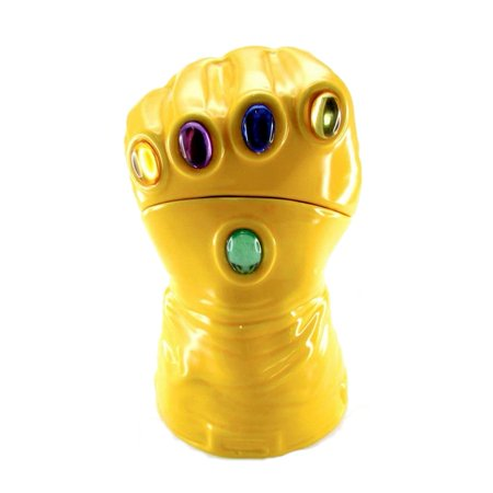 Marvel Heroes: The Infinity Gauntlet Lidded Gem Glove Cookie Jar Comic Surreal Entertainment SEP158904