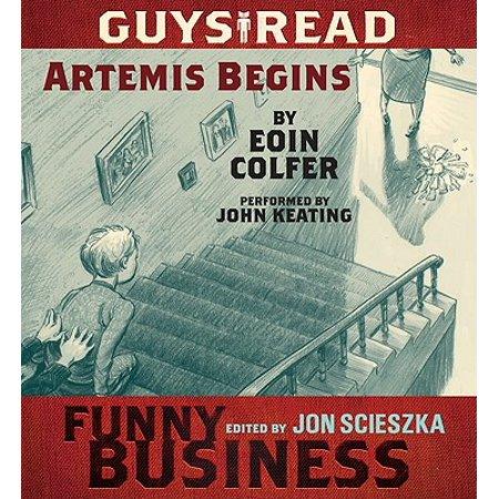 Guys Read: Artemis Begins - Audiobook