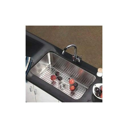 Dawn asu106 undermount single basin kitchen sink - Walmart kitchen sinks ...
