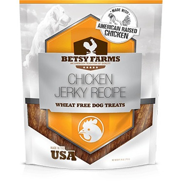 Betsy Farms Chicken Jerky Recipe Dog Treat, 28 oz by PetIQ