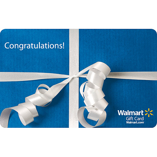 Ribbon Congratulations Gift Card