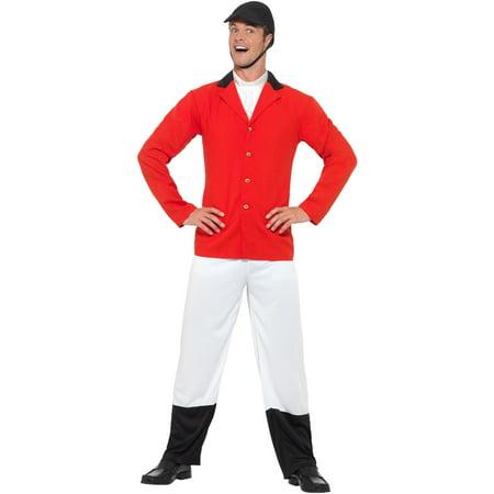 Mens High Class Society Sport Huntsman Englishman Costume