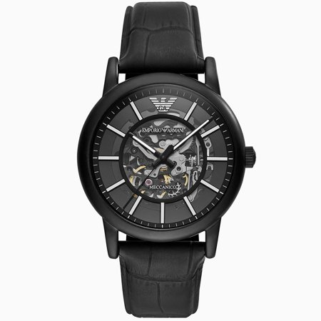 21 Jewel Automatic Watch - Emporio Armani Men's Automatic Mechanical Watch AR60008