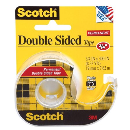 scotch permanent double sided tape 75 x300. Black Bedroom Furniture Sets. Home Design Ideas