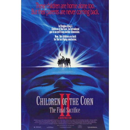 Sacrifice Movie Poster (Children of the Corn 2: The Final Sacrifice - movie POSTER (Style A) (11