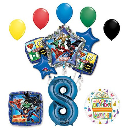 The Ultimate Justice League Superhero 8th Birthday Party Supplies - Justice League Party