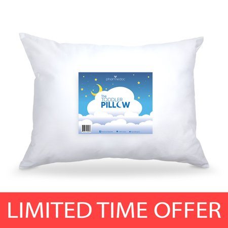 Hypoallergenic Toddler Pillow - Small Pillow for Kids - 14