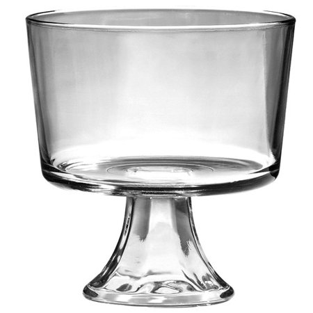 Anchor Hocking Presence Trifle Dish](Trifle Bowl Plastic)