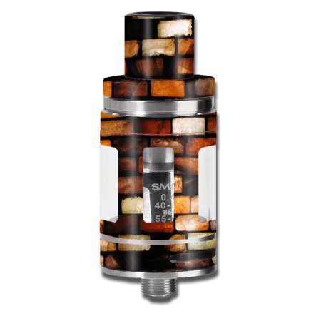 Skin Decal For Smok Micro Tfv8 Baby Beast Vape Mod / Stained Glass Bricks Brick Wall (Mold Stained Glass)