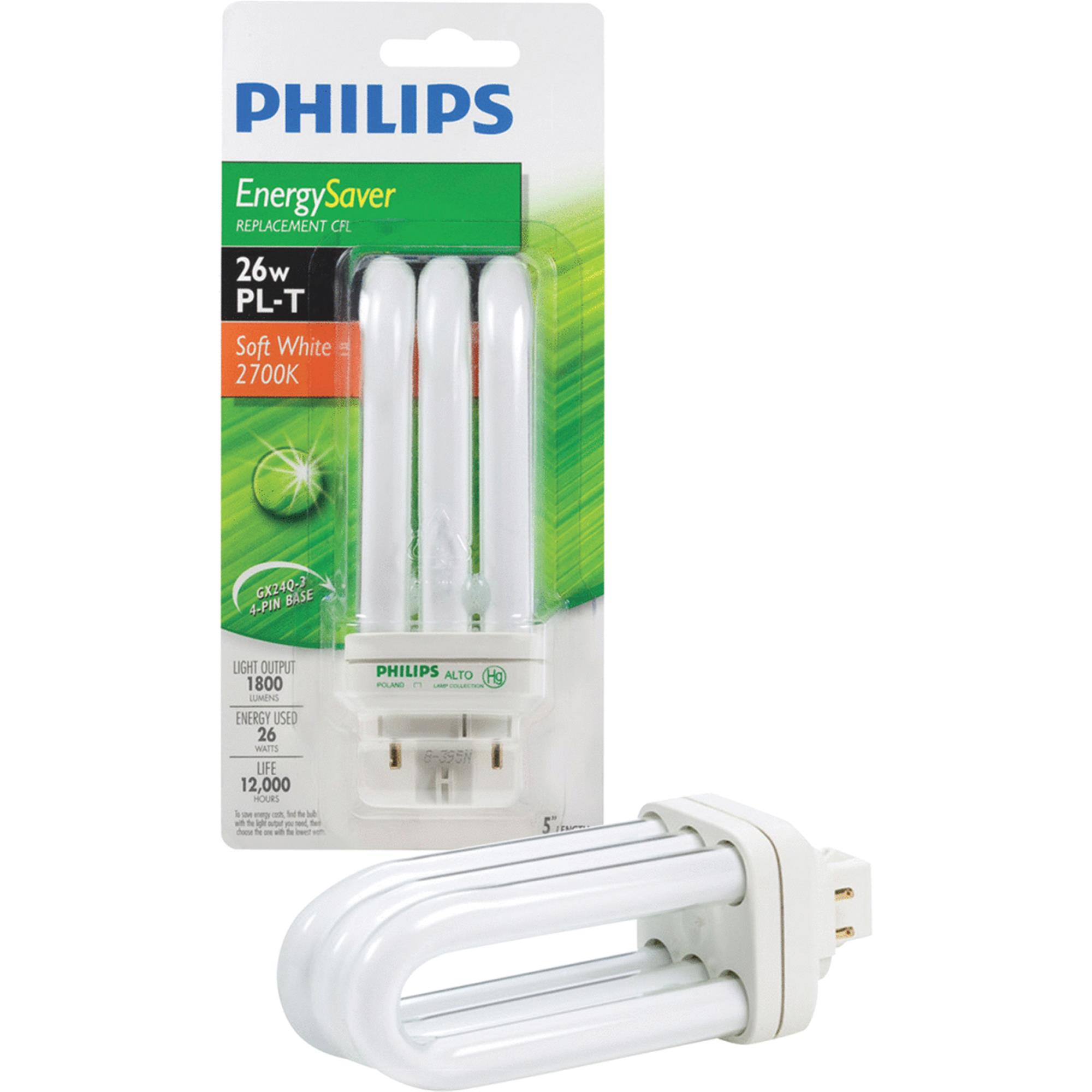 Philips PL-T GX24 CFL Light Bulb
