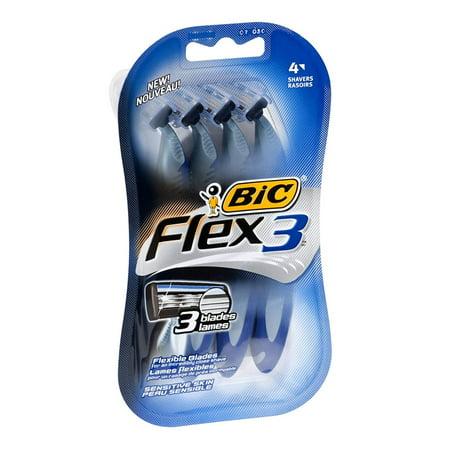 Flex 3 Men'S 4ct Size 4ct Flex 3 Men'S 4ct, BIC Flex3 Disposable Razors By (Walk On The Wild Side Bbc Alan)