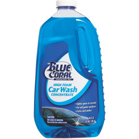 BLUE CORAL Concentrate Car - Blue Coral Car Wash