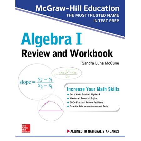 McGraw-Hill Education Algebra I Review and (Best Way To Learn Algebra)