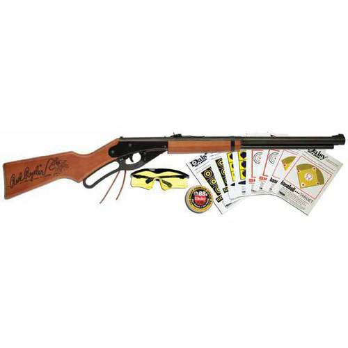 Daisy Red Ryder BB Gun Fun Kit, Brown, .177 Caliber by Daisy
