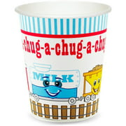 Two-Two Train 2nd Birthday 9 oz Cups, 8pk