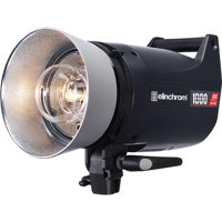 Elinchrom ELC Pro HD 1000 1000W/s Compact Flash Head, 5500K Color Temperature, 8-Ch Transceiver, 300W Modeling Lamp, Up to 20 Flashes/Second