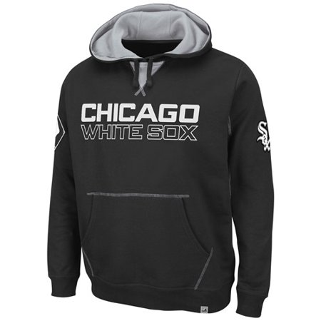 "Chicago White Sox Majestic ""Fly Ball"" Hooded Sweatshirt Black by"