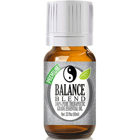 Balance Essential Oil Blend 100  Pure  Best Therapeutic Grade   10Ml   Comparable To Young Living Valor And Doterra Balance   Ho Wood  Frankincense  Lemon  Camphor  German Chamomile  Ravensara