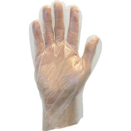 High Density Polyethylene Bottles (The Safety Zone GDPE-MD-E-100 Powder Free Polyethylene Gloves, Embossed Grip, High Density, Latex Free, Medium, Clear (Pack of 100))
