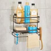 Better Homes & Gardens Bryn Power Lock 2-Tier Suction Shelf, Bronze