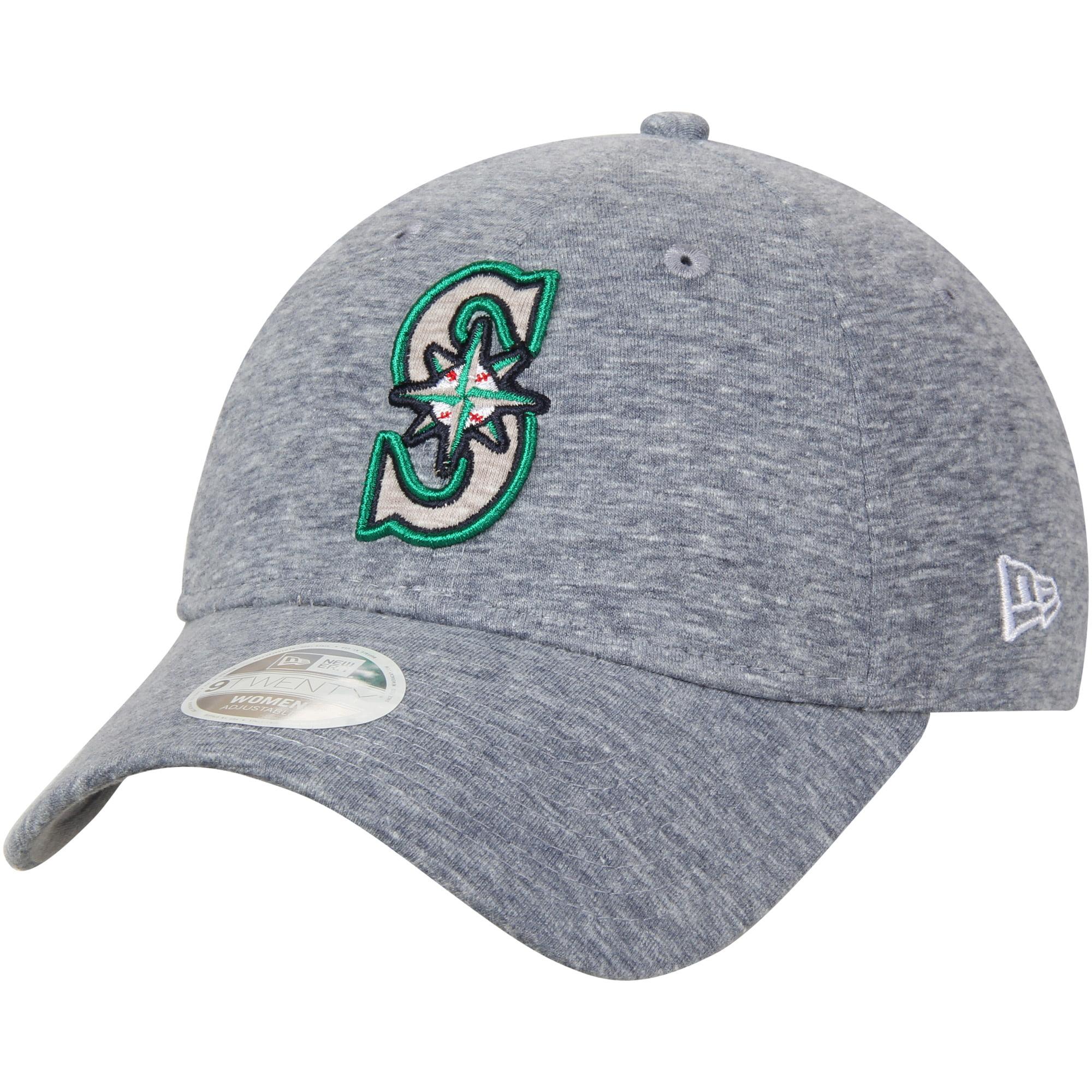 Seattle Mariners New Era Women's Team Multi Tone 9TWENTY Adjustable Hat - Heathered Navy - OSFA