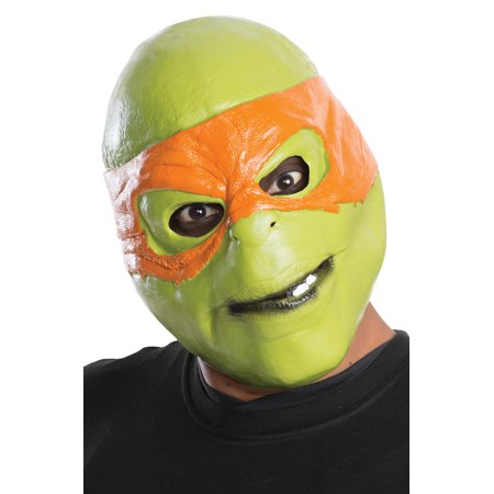 TMNT Movie Michelangelo Adult Mask (Smiley Movie Mask)