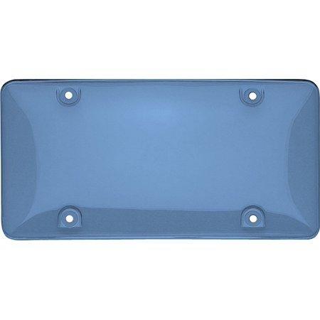 73400 Tuf Bubble Novelty / License Plate Shield, Blue, Unbreakable Tuf novelty plate shield provides ultimate protection from the elements for your.., By Cruiser Accessories