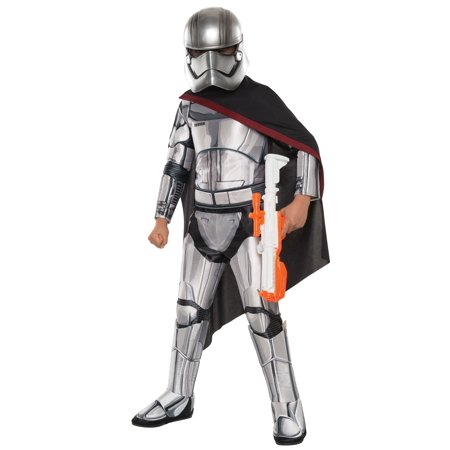 Child Deluxe Star Wars Ep. 7 Captain Phasma Costume - image 1 de 1