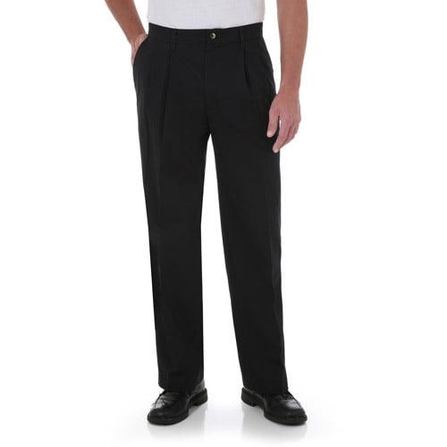 Wrangler Men's Comfort Series Pleated Pants
