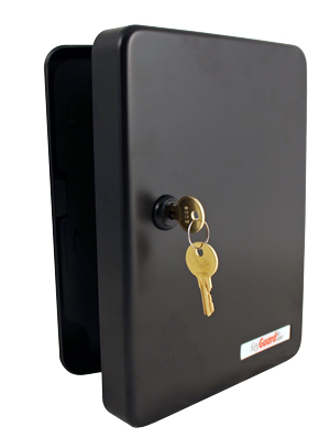 KeyGuard SL 9122 KB Black 122 Hook Key Cabinet