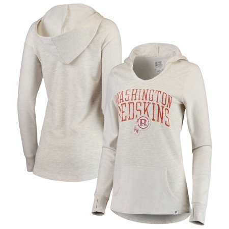 Washington Redskins NFL Pro Line by Fanatics Branded Women s True Classics  Pullover Hoodie - Cream - Walmart.com 9131bbc4c