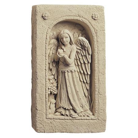 Natures Angel Wall Plaque/Garden Statue