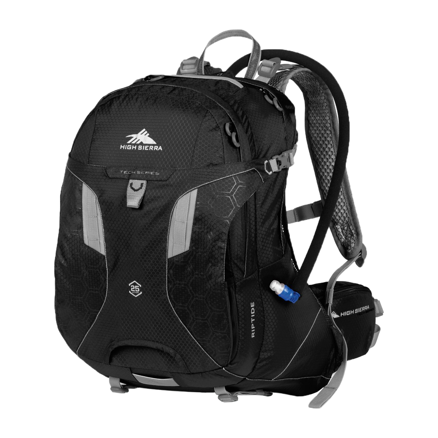 High Sierra Riptide BPA Free Airflow System 2 Liter Hydration Nylon Backpack by High Sierra