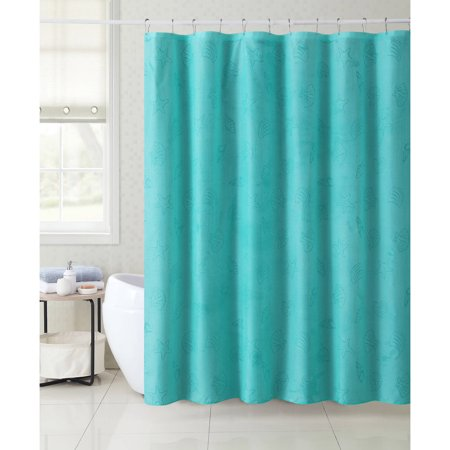 Victoria Classics Mystic Shore Shell 13 Piece Shower Curtain Set