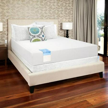 Select Luxury  Gel Memory Foam 10 Inch King Size Medium Firm Mattress