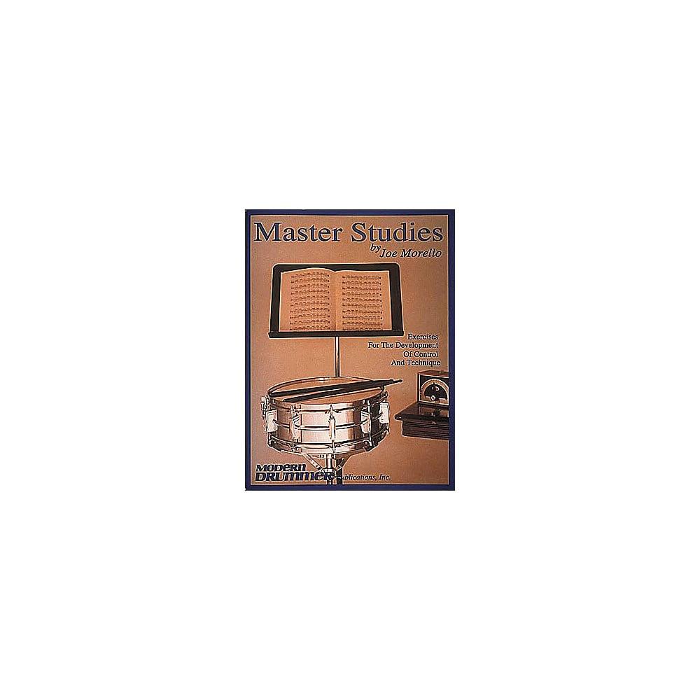 Hal Leonard Joe Morello - Master Studies Book