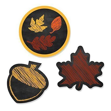 - Fall Leaves - DIY Shaped Fall Party Cut-Outs - 24 Count
