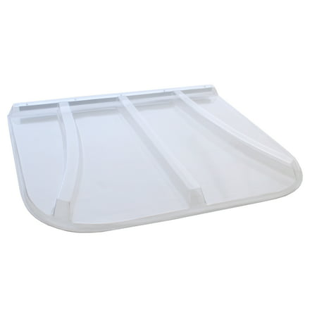 44 in. x 38 in. Universal Fit Polycarbonate Window Well (Best Window Well Covers)