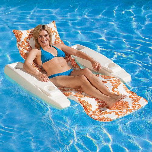 Poolmaster Royal Hawaiian Adjustable Floating Pool Lounger