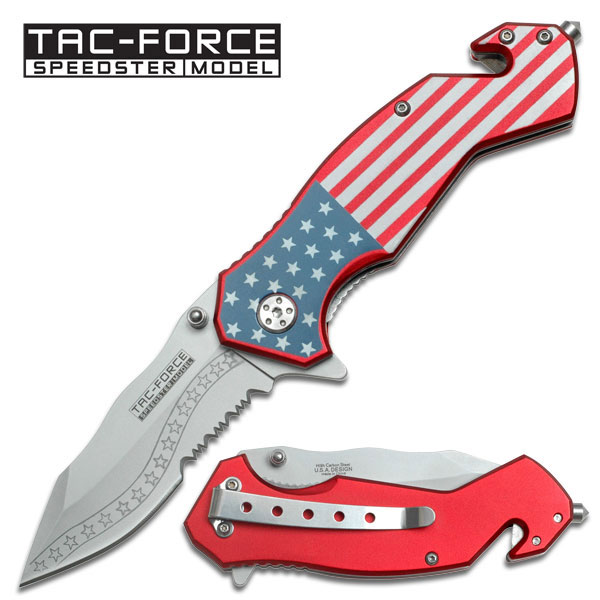 Tac-Force Spring Assisted Knife by Master Cutlery