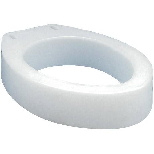 carex raised toilet seat elevator elongated shape