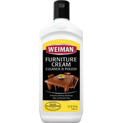 Weiman Wood Furniture Cream Cleaner & Polish, 8.0 fl. oz
