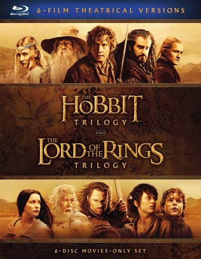 Middle-Earth Theatrical Collection: The Hobbit Trilogy and The Lord Of The Rings Trilogy (Blu-ray) by Warner Bros. Home Entertainment