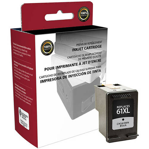 CIG Remanufactured High Yield Black Ink Cartridge (Alternative for HP CH563WN 61XL) (480 Yield)