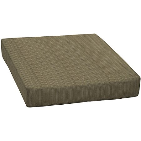 Better homes and gardens outdoor deep seat cushion brown Better homes and gardens seat cushions